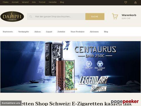 Dampfi - Der günstigste E Zigarette Shop schweizweit.