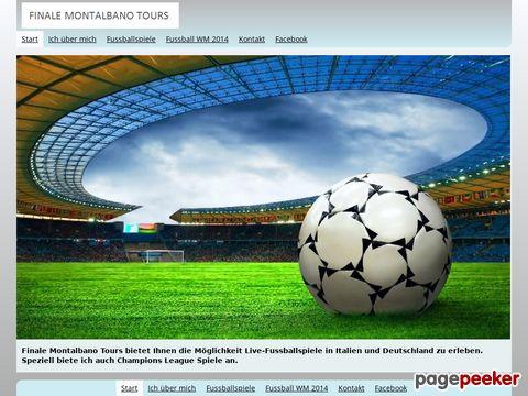 Fina-Tours.ch Fussballreisen von Finale Montalbano Tours
