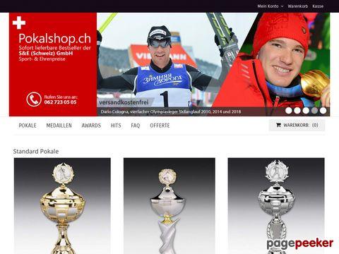 pokalshop.ch - Pokale aus Leidenschaft