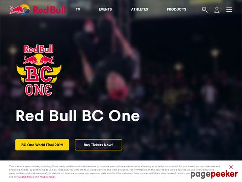 Red Bull BC One - The Worlds Premier Breaking Competition