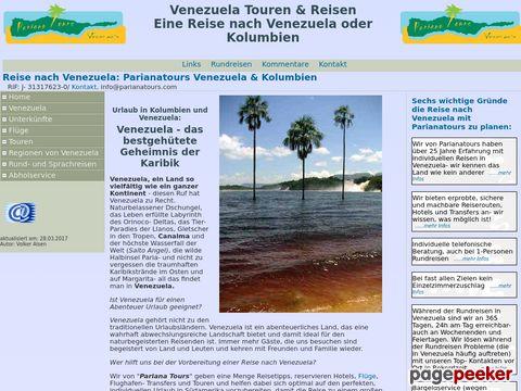 parianatours.com - individuelle Reise nach Venezuela