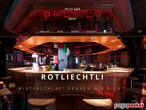 Music Bar Rotliechtli - Davos