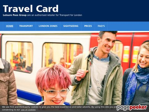 London TravelCard - Order London Undeground TravelCard Online