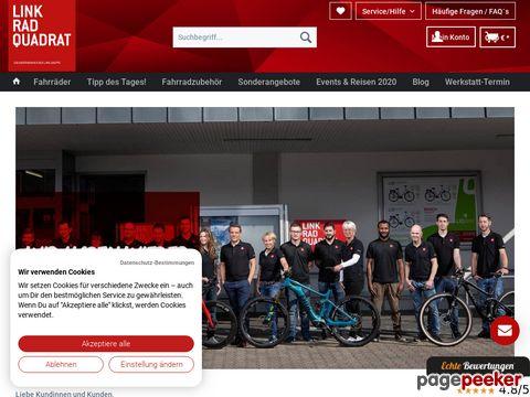 LinkRadQuadrat.de - sehr  günstig Räder einkaufen