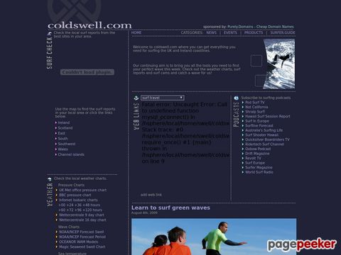 coldswell.com - Everything you need for surfing in the UK and Ireland