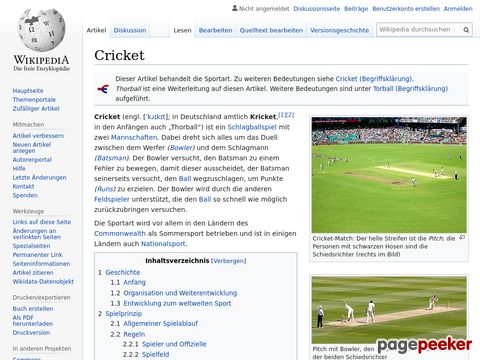 Cricket - Wikipedia
