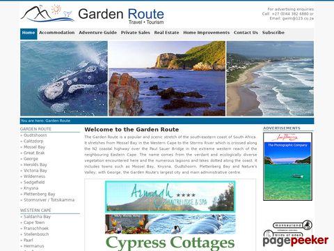 gardenroute.co.za - Garden Route South Africa Guide