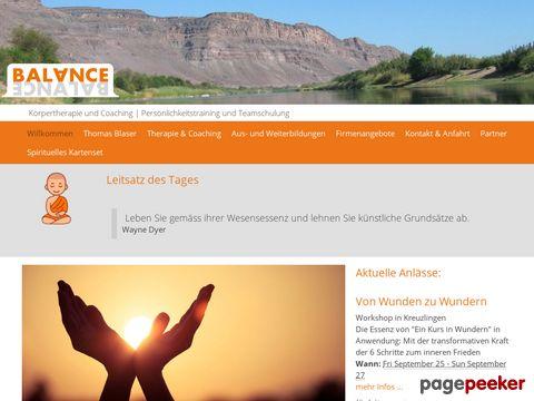 balance-therapie.ch - Homepage [Balance Therapie]