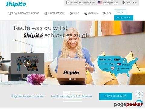 shipito.com - USA Adresse & Paketweiterleitung