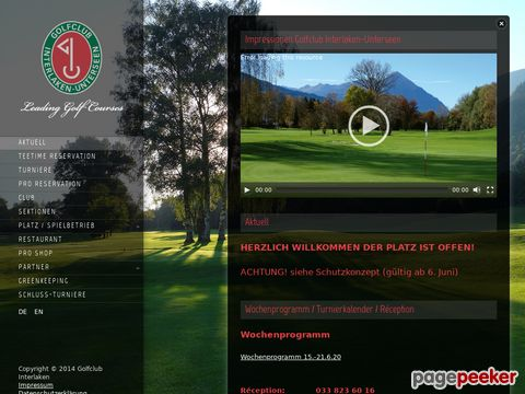 Golfclub Interlaken-Unterseen (Interlaken BE)