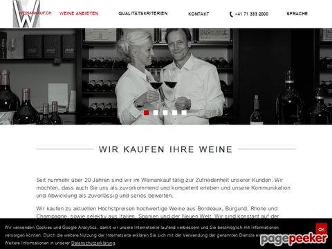 Weinankauf.ch: Wir kaufen Ihre Bordeaux Weine