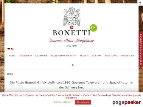 biopastabonetti.ch - Bio Pasta C. & G. Bonetti