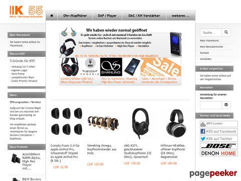 K55 MP3-Shop