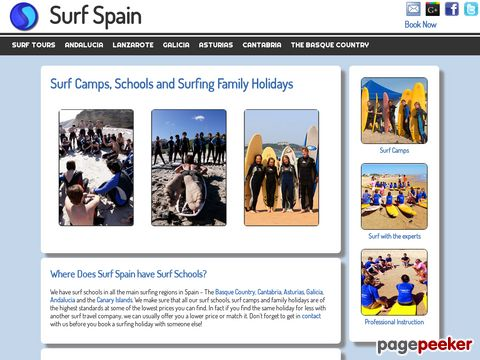 Surf Spain - Surfing Holidays in Spain and the Canary Islands
