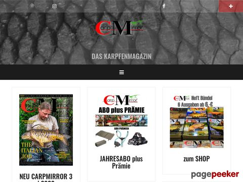 CarpMirror.de - Das Karpfenmagazin