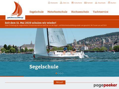 Globesailing, in Zürich die beste Segelschule