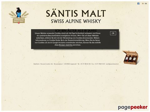 SÄNTIS MALT - SWISS HIGHLANDER