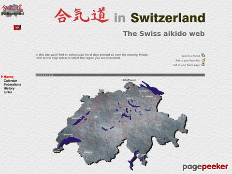 Aikido In Switzerland: The Swiss Aikido Web home page