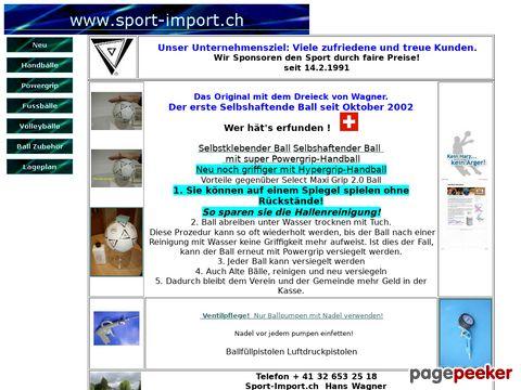 Sport-import.ch / Vereins- und Sportartikel