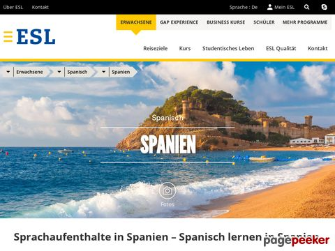ESL - Spanisch lernen in Spanien