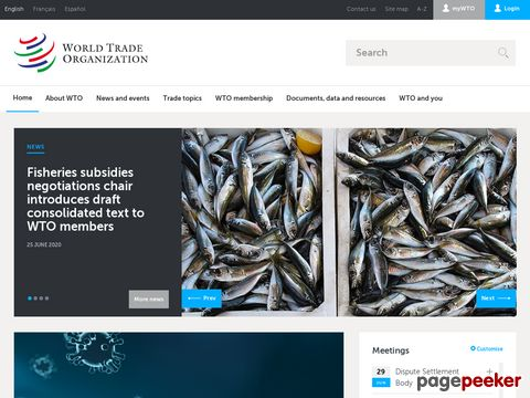 Welthandelsorganisation - World Trade Organization (WTO)