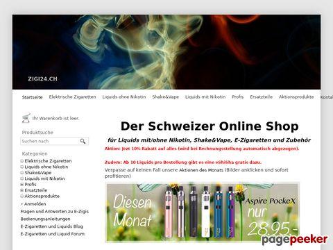 Zigi24.ch - E-Zigaretten und Liquids