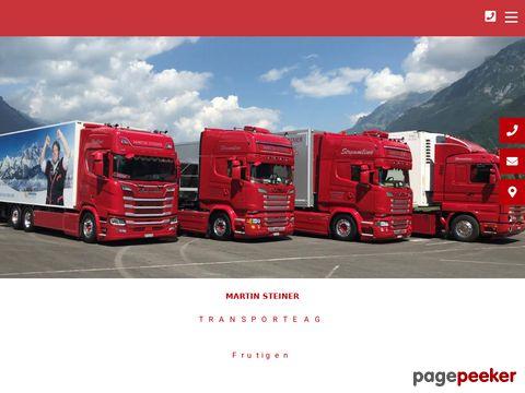 Martin Steiner Transporte - Transportunternehmen in Bern