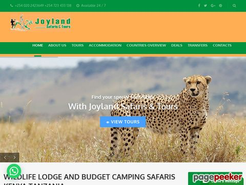 Adventure Joyland Safaris and Tours Kenya-Tanzania
