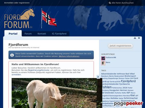 Fjordpferde-Forum