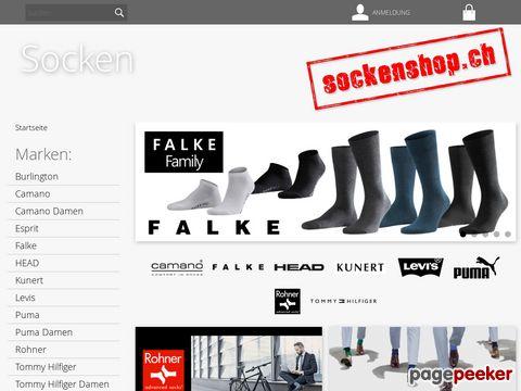 sockenshop.ch - Sockenshop by Underwear-Shop Schweiz