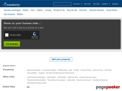 travelocity.com - vergleichen und Geld sparen
