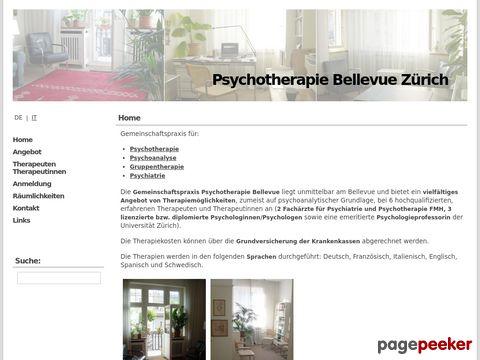 Psychotherapie Bellevue Zürich