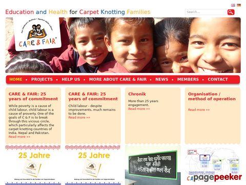 CARE & FAIR – Gegen illegale Kinderarbeit in der Teppich-Produktion