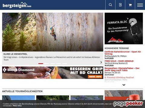 Bergsteigen.at : : Das Portal für Kletterer und Bergsteiger