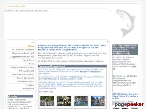T.ST. FLY-FISHING Fliegenfischerschule,Fliegenfischerkurse