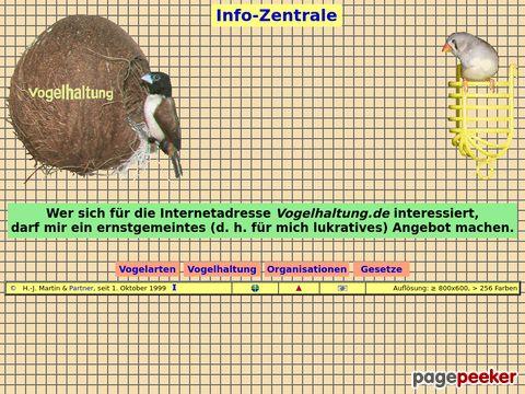 vogelhaltung.de - Vogelhaltung: Leitseite