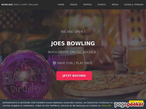Joe`s Bowling Center, CH-8620 Wetzikon