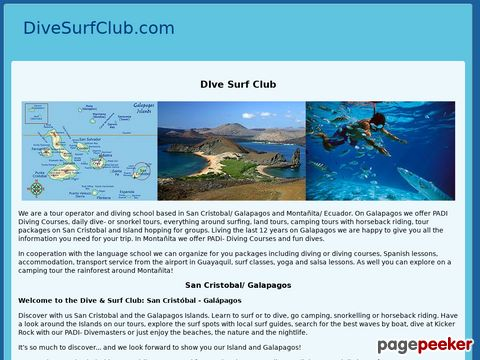 Dive & SurfClub San Cristóbal - Galápagos (Ecuador)