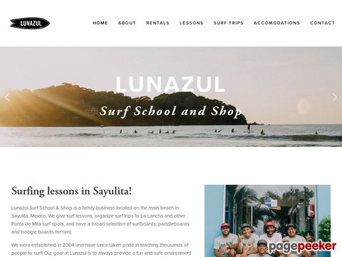 Lunazul Surf School—Surf Camps & Surf Lessons in Sayulita