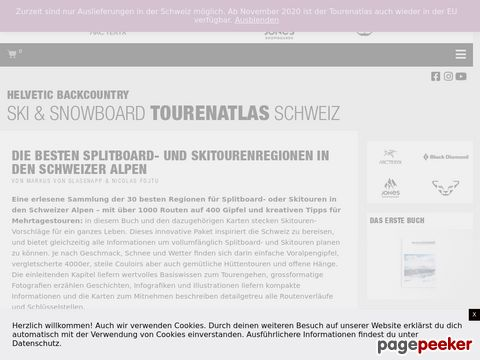 HELVETIC BACKCOUNTRY - Snowboardtouren in den Schweizer Alpen