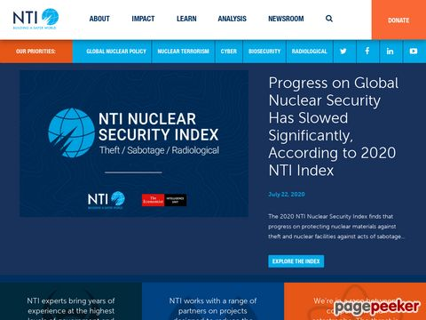 nti.org - Nuclear Threat Initiative