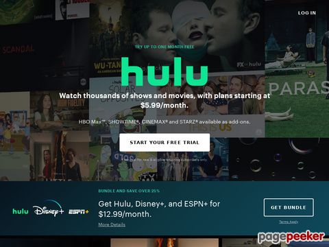 hulu.com - Hulu - Watch your favorites. Anytime. For free.