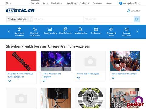 music.ch - CH-Musiker-Plattform