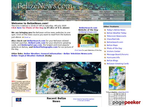 Belizeans.com is Belizes number one website with news