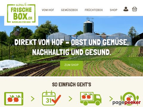 Frische Box - Gemüse und Früchte online bestellen, regional & saisonal vom Hof
