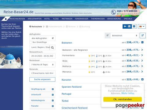 - Reise-Basar24.de Reiseshop mit Bestpreisgarantie-
