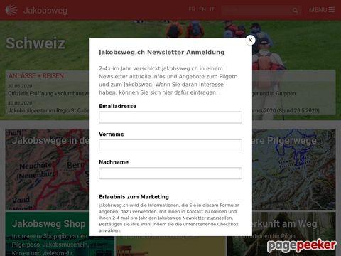 Jakobsweg Schweiz - Pilgern in der Schweiz