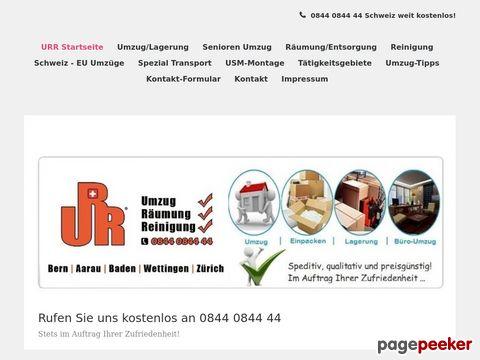 urr.ch - URR-Service AG