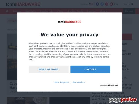 Toms Hardware: News, Testberichte und Kaufberatung