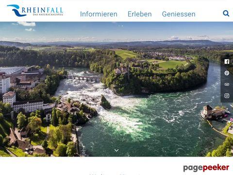 Der Rheinfall - der grösste Wasserfall Europas